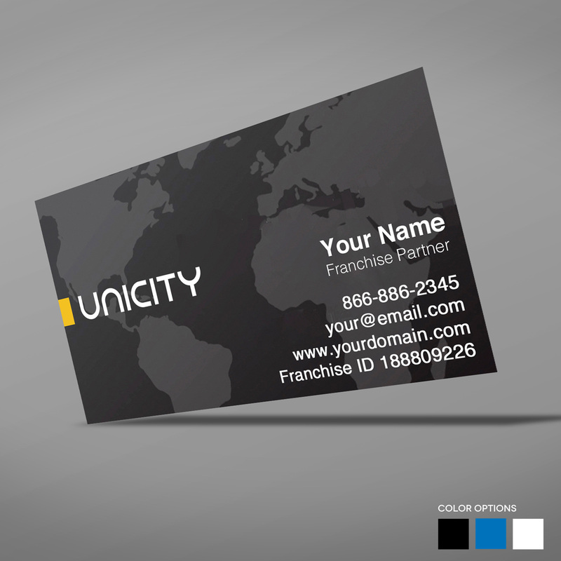 Unicity Business Cards - Amber Media Solutions